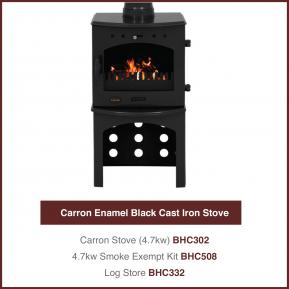 Carron Cast Iron Stoves 4.7kw