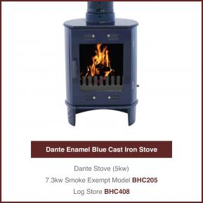 Dante Cast Iron Stoves 5kw