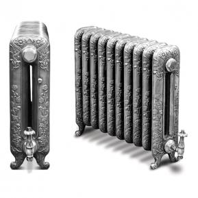The Daisy Cast Radiator in a Full Polish Finish