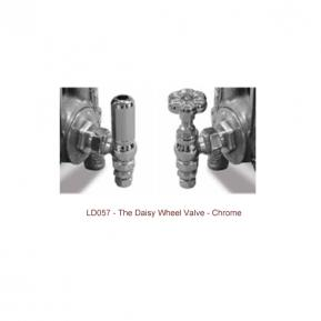 Daisy Wheel Valve - Chrome