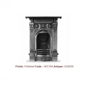 Victorian Fireplace with a Polished finish