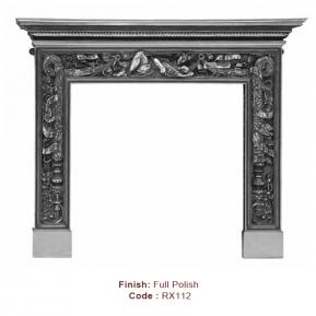 The Mayfair Fire Surround in a Full Polish finish