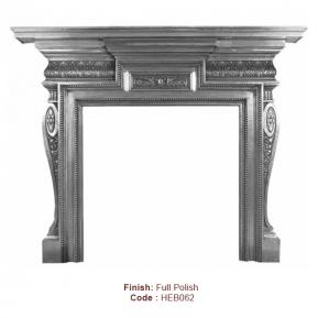 The Knightsbridge Fire Surround in a Full Polish finish