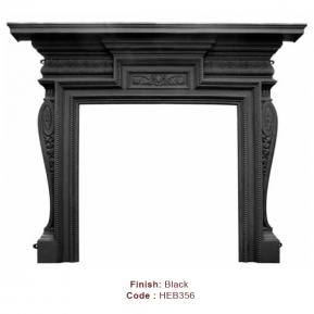 The Knightsbridge Fire Surround in a Black finish