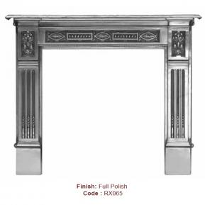 The Albert Fire Surround in a Full Polish finish