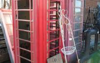 reclaimed telephone box