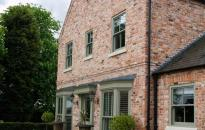 Large house build with reclaimed bricks